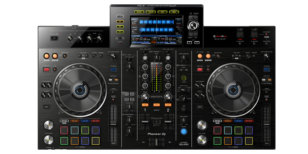 Alquiler Cabina DJ All in one XDJ RX2