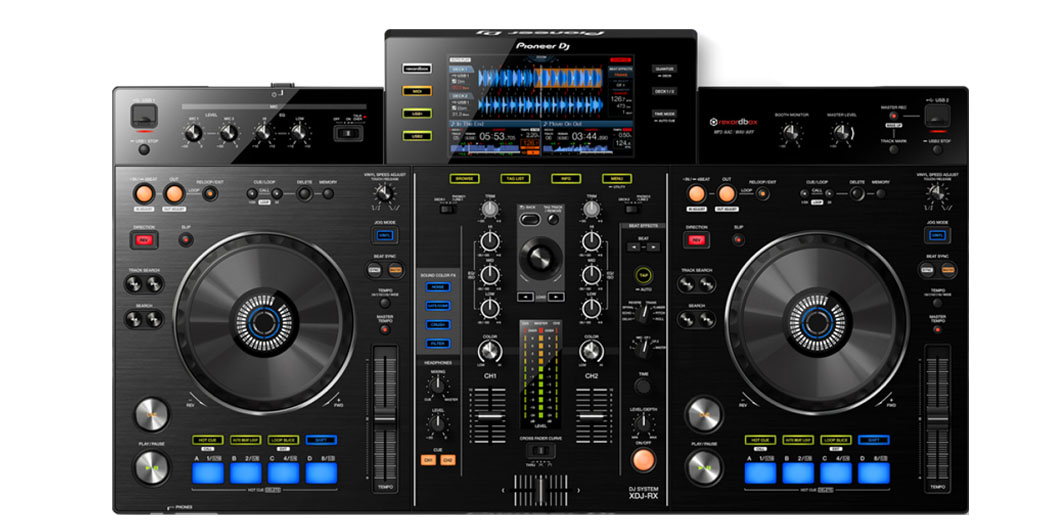 Alquiler Cabina DJ All in one XDJ RX