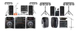 sound rental options