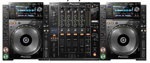 CDJ 2000 Nexus and DJM 900 Nexus Rental
