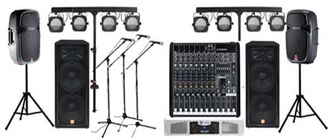 sound rentals for music bands
