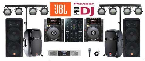Professional Dj Systems Sound System Als